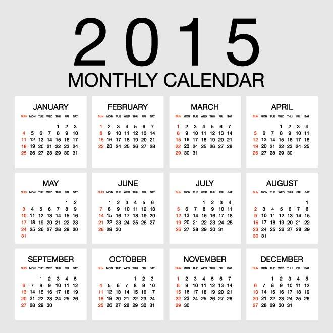 2015 Yearly Calendar Template Psd Online Calendar 2012 Malaysia