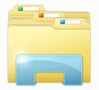 14 CRM Document Folder Icon Windows Images - Windows 7 ...