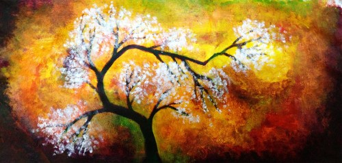 Medium Of Easy Acrylic Paintings
