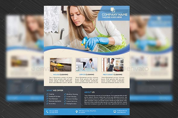 14 Cleaning Services Flyer Templates Psd Images - Cleaning Service