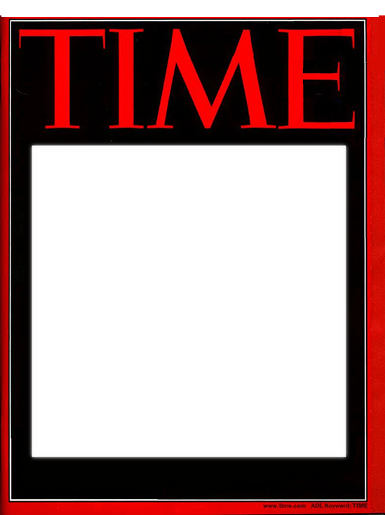 Pics for blank time magazine for Time magazine person of the year cover template