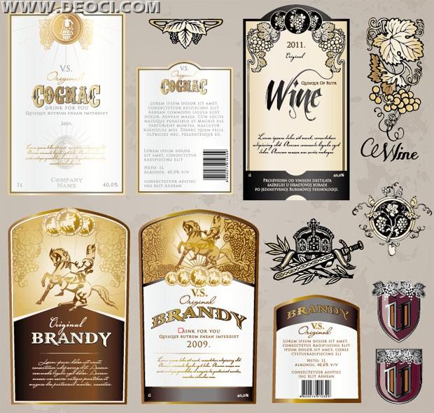 Wine Bottle Tag Template | Ejemplos De Curriculum Vitae Pdf Gratis