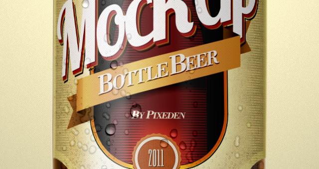 13 Beer Label Template PSD Images - Beer Bottle Label Template, Beer - abel templates psd