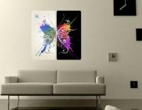 19 Modern Wall Graphics Images - Modern Wall Art Stickers ...