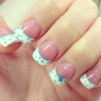 15 Polka Dot Nail Designs Images - Nail Art with Polka ...