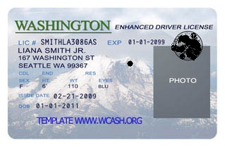 Comfortable California Driver License Template Usa Template Psd