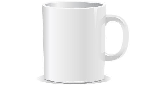 20 Mug Template Vector Images - Free Vector Coffee Cup Template, Mug