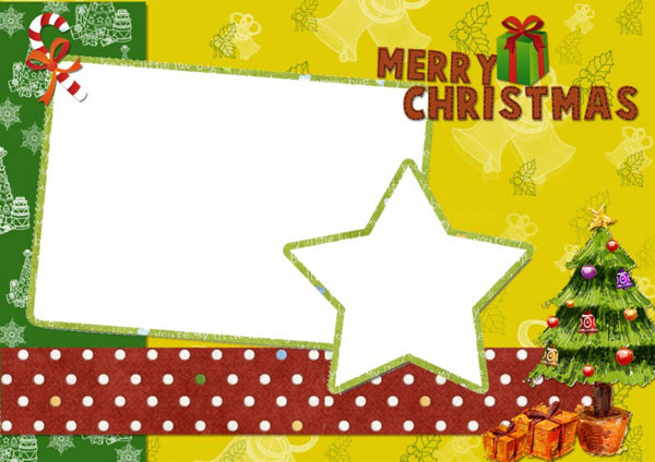11 Christmas Card Templates Free Download Images - Christmas Card