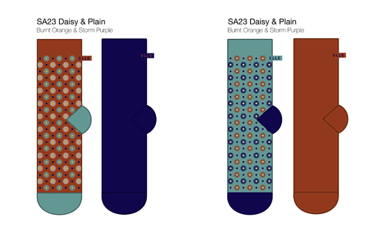 Sock Design Template Erieairfair