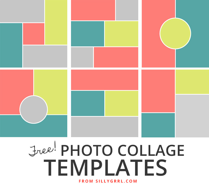 15 Simple Collage Template PSD Images - Collage Templates, Free