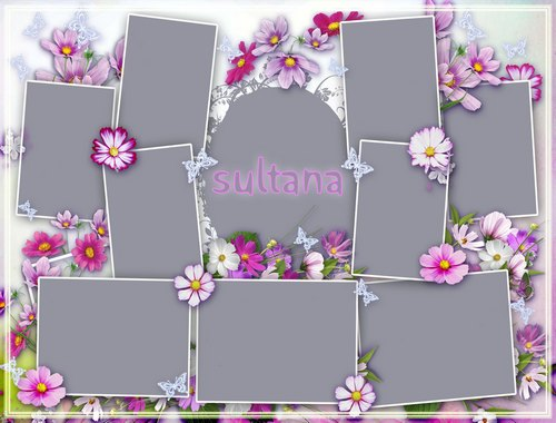 13 Free Psd Collage Templates Images - Free Photoshop Collage