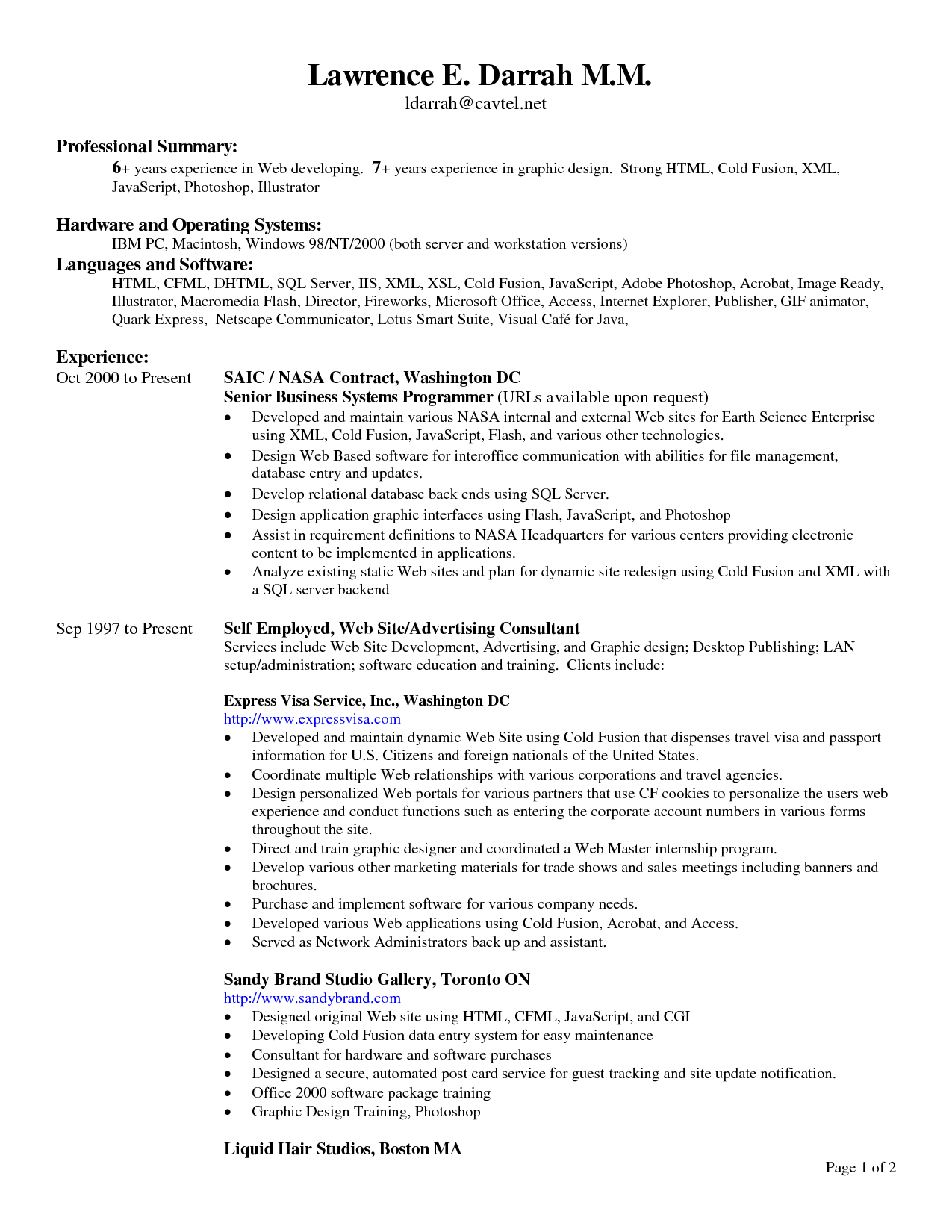 best resume header fonts professional resumes example online