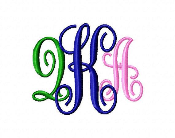 10 monogram kk font images