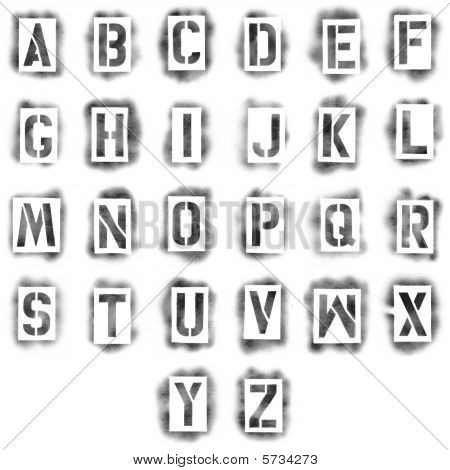 12 Spray-Paint Stencil Font Images - Stencil Font Microsoft Word