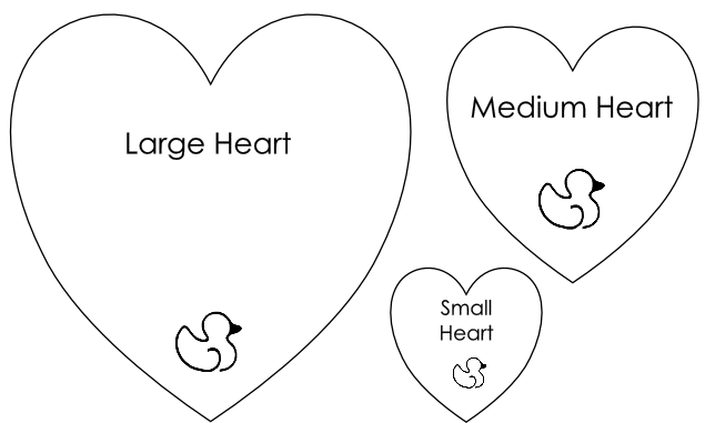 Heart Template For Sewing - Costumepartyrun