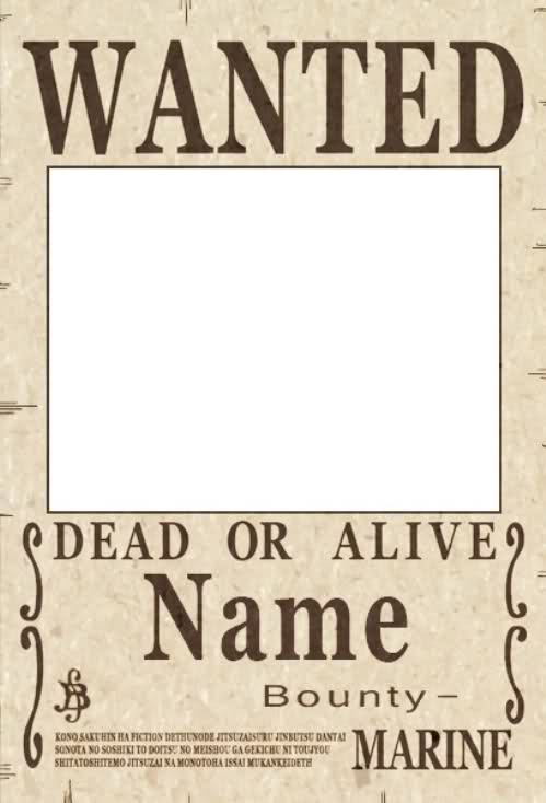 13 Wanted Poster PSD Images - Free Wanted Template Photoshop, Real