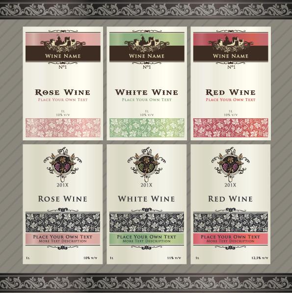 Free Wine Label Design oakandale