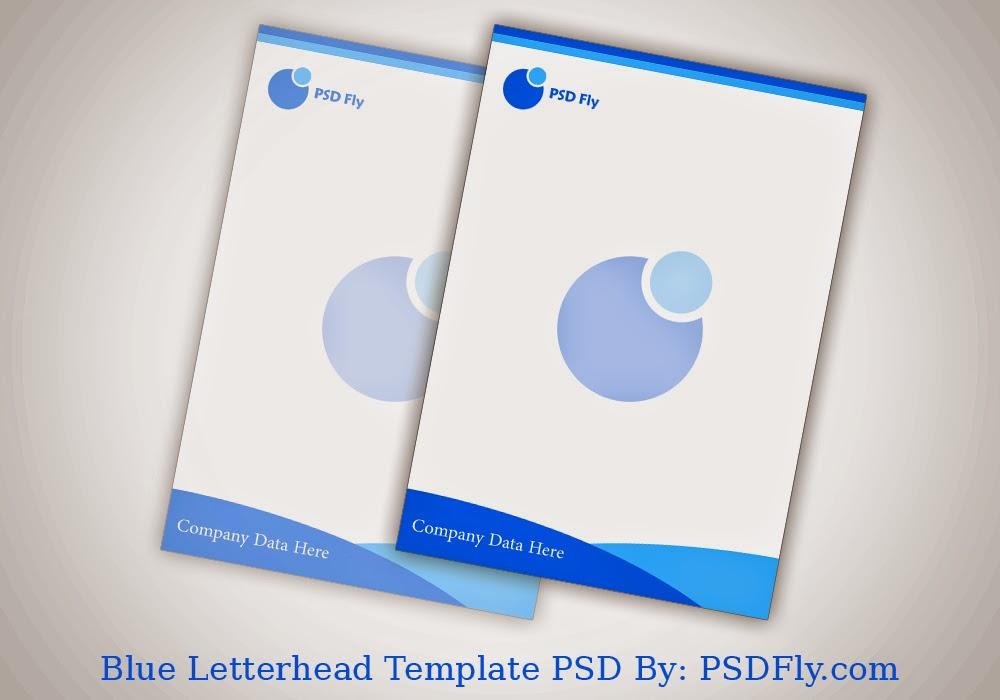 13 PSD Letterhead Template Images - Letterhead Templates Free