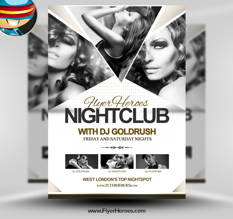 19 Strip Club Flyer PSD Templates Images - Free Club Flyer Templates