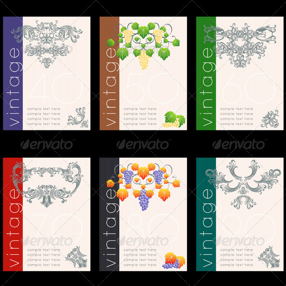 13 Free Wine Label Design Template Images - Free Printable Label - free wine bottle label templates
