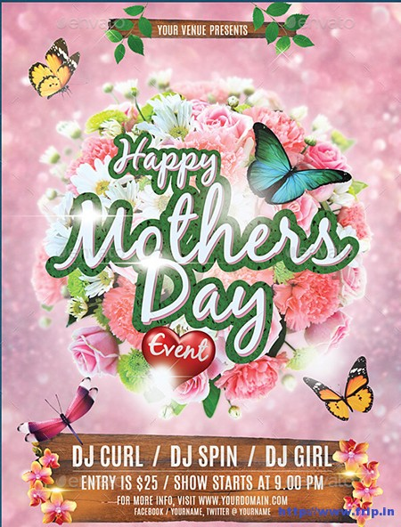 12 Mother\u0027s Day Flyer Template PSD Images - Mother\u0027s Day Flyer