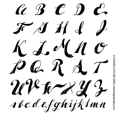 13 Cool Letter Fonts To Draw Images - Easy to Draw Cool Letter Fonts