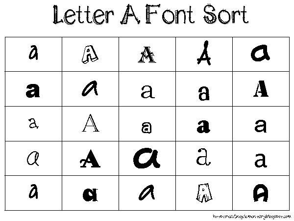 7 All Letter Fonts Images - Cursive Font Alphabet Letters, Font