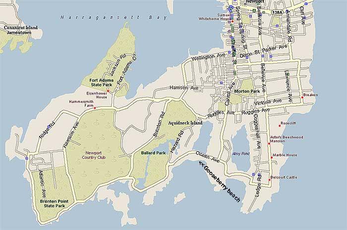 Newport Rhode Island USA Cruise Port of Call