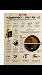 cast iron care