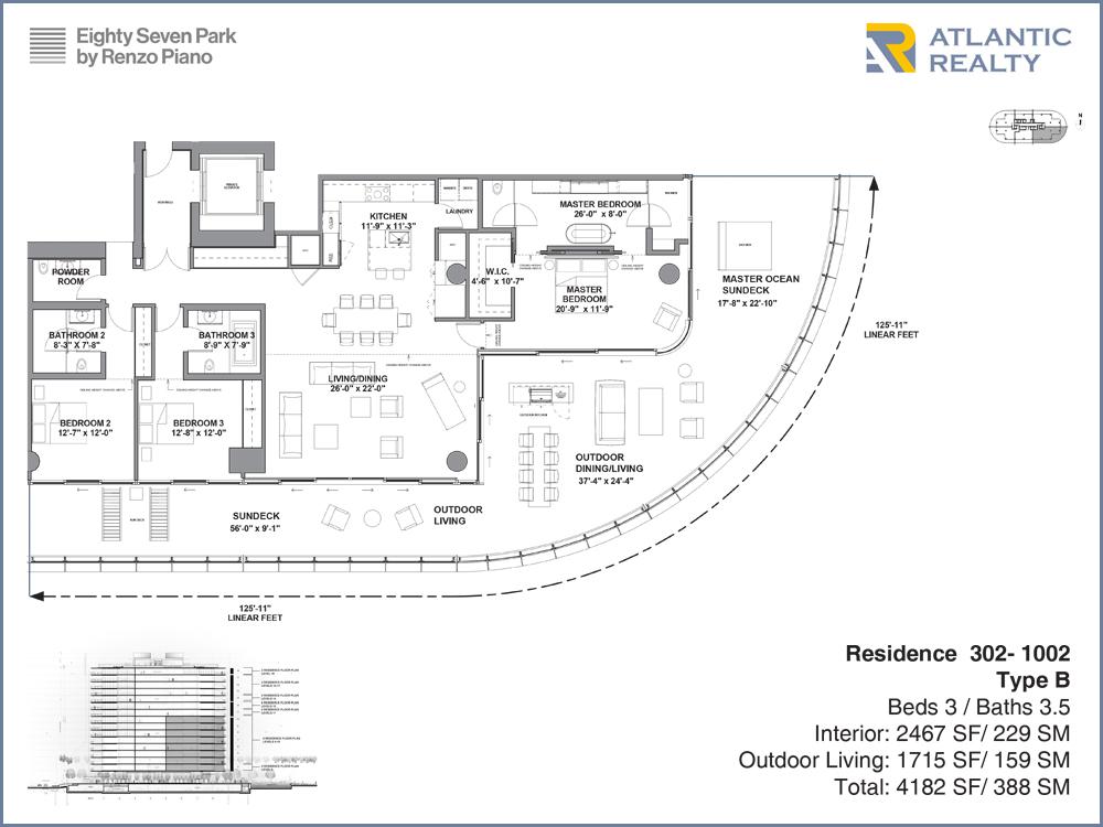 Eighty Seven Park By Renzo Piano New Miami Florida Beach