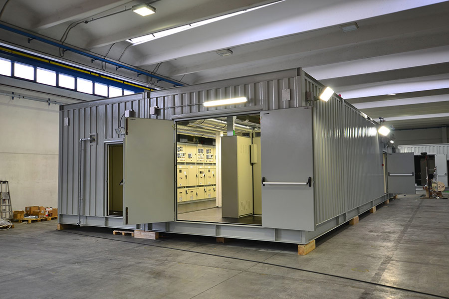 24 containerized ELECTRICAL SUBSTATIONS IRAQ