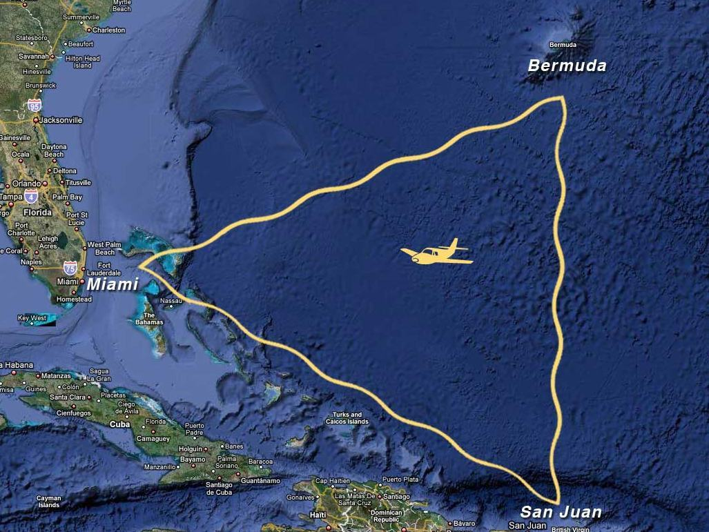 information about bermuda triangle