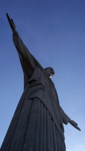 I took this picture of the Christ statue in Rio de Janeiro
