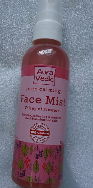 Auravedic Pure Calming Face Mist Valley of Flowers Review