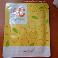 The Face Shop Vita C Hydro Gel Mask Sheet Review