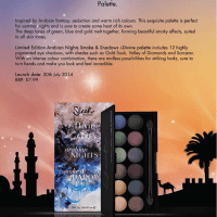 Sleek MakeUP Launches Arabian Nights Smoke & Shadows i-Divine Palette