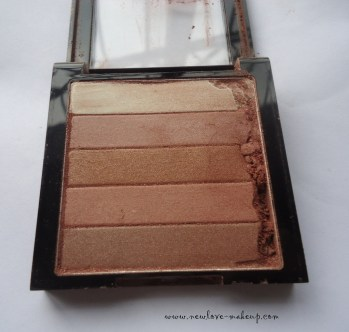 Revlon Highlighting Palette Bronze Glow Review, Swatches, Indian Makeup and Beauty Blog