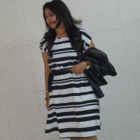 OOTD: Striped with Leather,Zebra Print Top