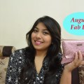 August Fab Bag Unboxing & Review, Indian Beauty Blog, Indian YouTuber