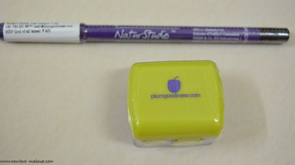 Plum Goodness NaturStudio All-Day-Wear Kohl Kajal Review, Swatches, Best Affordable, Dark, Smudge Proof and Long Staying Kajal in India