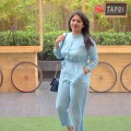 OOTD: Powder Blue Jumpsuit, Indian Fashion Blog,Fashion Blogger, Outfit Of the Day