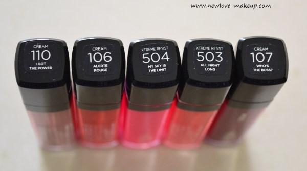 L'Oreal Paris Infallible Le Mega Gloss Review, Swatches, Indian Makeup Blog, New Makeup Launches India