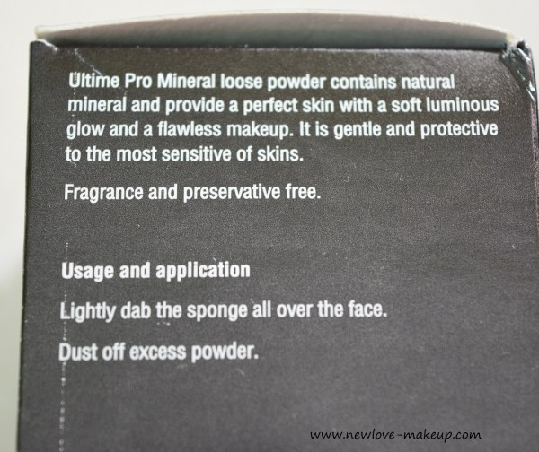 Faces Cosmetics Ultime Pro Mineral Loose Powder Review, Swatches, Indian Makeup Blog, Makeup Blog