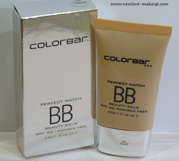Colorbar Perfect Match BB Beauty Balm Review, Swatches, Price, Buy Online