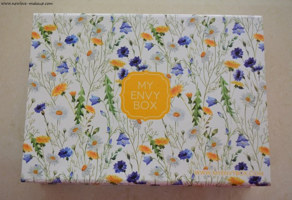 June 2016 My Envy Box Unboxing, Review & 15% off Discount Code