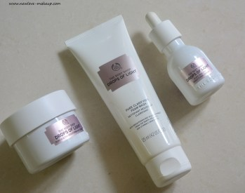 The Body Shop Drops of Light Range Review, Indian Makeup and Beauty Blog