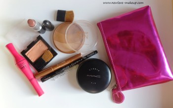 What's in My Makeup Pouch? (Makeup On The Go), Indian Makeup Blog