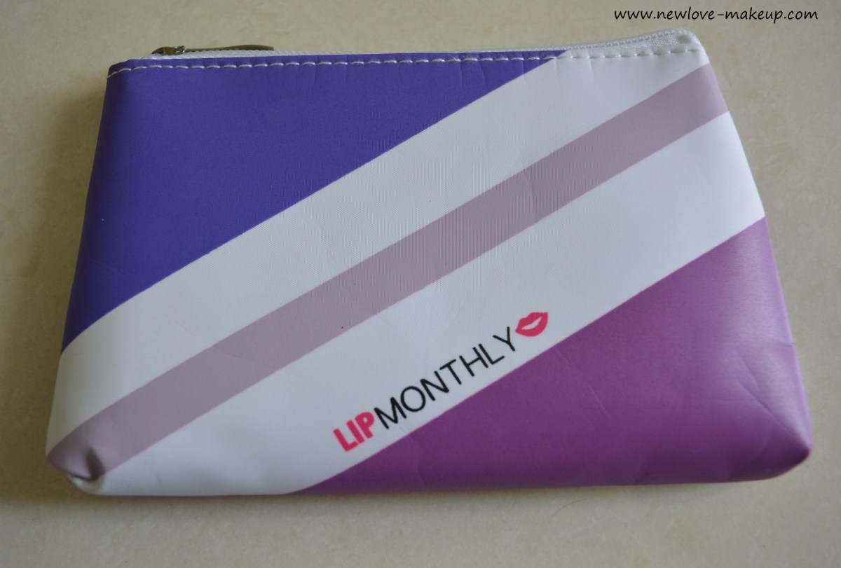 September 2016 Lip Monthly Bag Unboxing