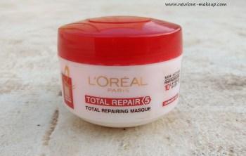 L'Oreal Paris Total Repair 5 Hair Masque Review, Indian Makeup and Beauty Blog