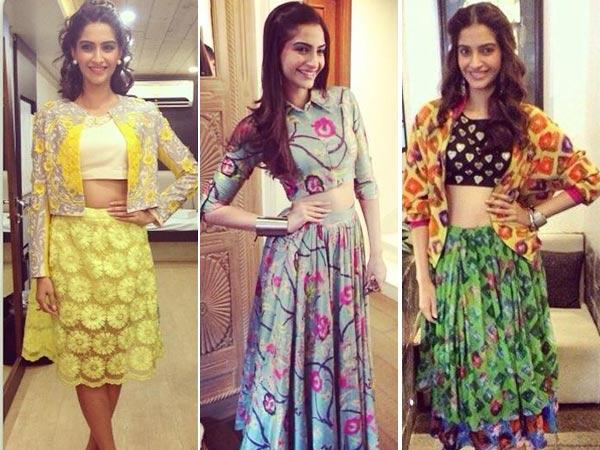 Bollywood Ladies Rocking the Crop Top, Indian Fashion Blog, Bollywood Blog
